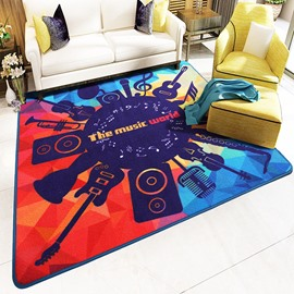 Original Design Creative Style Square Bedroom Area Rug