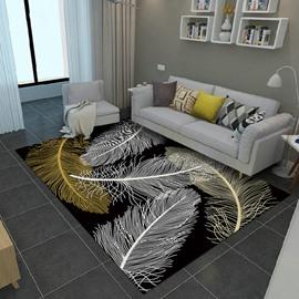 80*150cm Nordic Style Living Room Rectangle Anti-Slip Area Rug