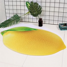 Fruits Shape Polyester Cartoon Style Area Rug