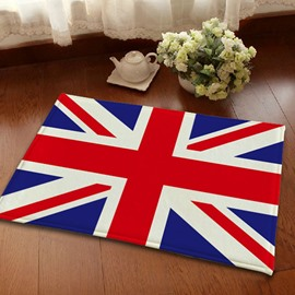 Flannel Anti-Slipping British Flag Union Jacks Area Rugs