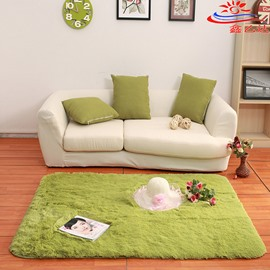 Modern Simple Bedroom Living Room Solid Color Thick Area Rug