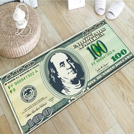 Amazing Creative Dollar Design Rectangle Home Decorative Area Rug