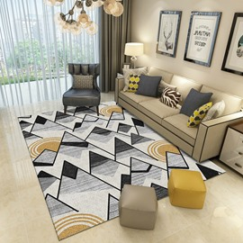 Modern Style Waterproof Mildew Resistant Rectangle Shape Area Rug