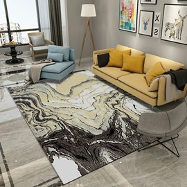 Machine Made Technics Geometric Pattern Modern Style Waterproof Area Rug