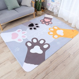 Bedside Thicken Baby Game Pad Cartoon Style Area Rug