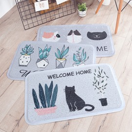 Thick Dustproof Anti-Slip Korean Style Hand Wash Area Rug