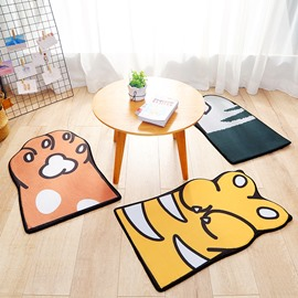 Creative Design Anti-Slip Dustproof Polyester Living Room Area Rug
