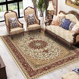 Study Persian Style 120*160cm Machine Made Wearproof Anti-Slip Area Rug
