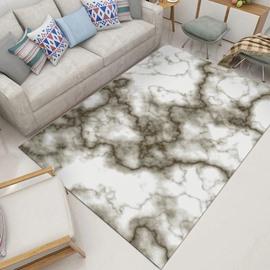 80*160cm Polyester Anti-Slip Wearproof Geometric Pattern Modern Style Area Rug