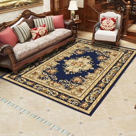 Royal Style 120*160cm Rectangle Wearproof Polyester Anti-Slip Area Rug