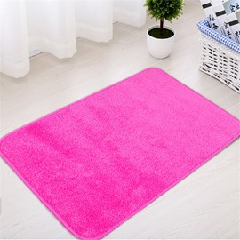 Plain Hand Wash Modern Style Machine Made Area Rug