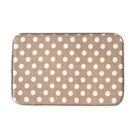 Polka Dots Modern Style Hand Wash Rectangle Area Rug