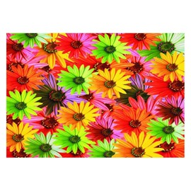Pretty Colorful Flowers Pattern Non-slip Doormat