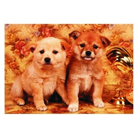 Elegant Super Cute Dogs Pattern Non-slip Doormat