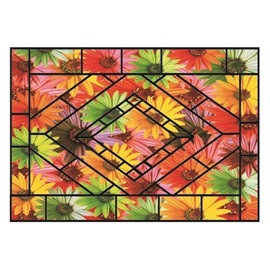 Gorgeous Beautiful Flowers Pattern Non-slip Doormat