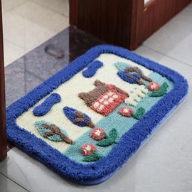 Water Absorption Suede Non-Slip Doormat