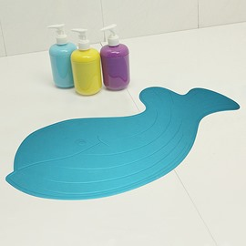 Creative Cartoon Whale Pattern Rubber Bath Rug