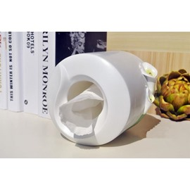 New Arrival Simple and Elegant Pastoral Resin Fine Handiwork Calla Tissue Box