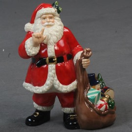 Porcelain Christmas Decorative Artware  Santa Claus Artwork