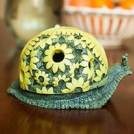 High Quality Fashionable Creative Snail Shape Resin Ashtray