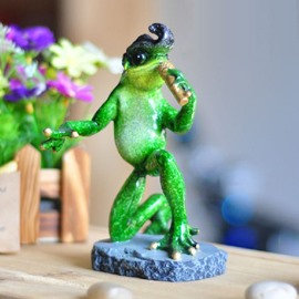 New Arrival Lovely Creative Singing Frog Ornament
