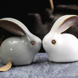Wonderful 1-Set Lucky Rabbits for Desktop Decoration