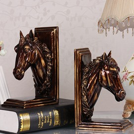 Fabulous Modern Design Horse Shape Book Holder Desktop Decoration