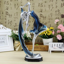 European Style Resin Beautiful Dancing Girl Design Desktop Decoration