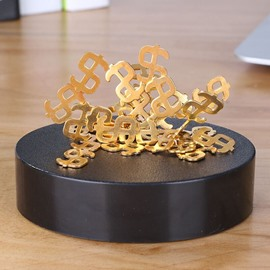 Dollar Shape Magnetic Furnishing Article DIY Style Desktop Decorations