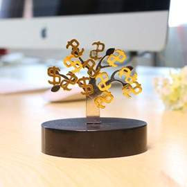 Money Tree Magnetic Gift Deduce Pressure Desktop Decorations