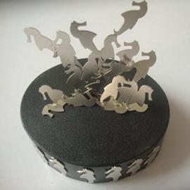 Sea Horse Shape Magnetic Furnishing Article Desktop Decorations