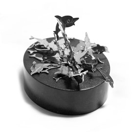 Magnetic Dolphin Shape Creative Gift Decompression Desktop Decorations