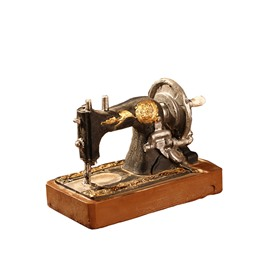 Sewing Machines With Pedestal American Vintage Crafts Window Desk Decoration