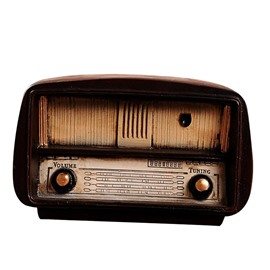 ​Vintage Radio Model Set Industrial Style Dress Shop Bar Window House Decoration Display