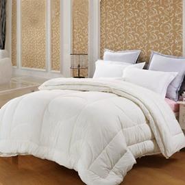 Quality Adorable White Geometric Figure Comfortable Skincare Quilt
