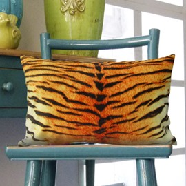 High Quality Tiger Stripes Printed Pillowcase