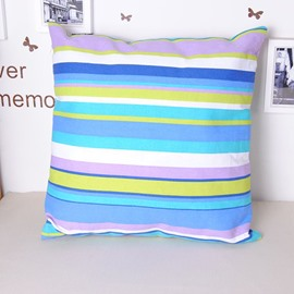 Super Comfy Fashionable Stripe Contemporary Style Throw Pillowcase