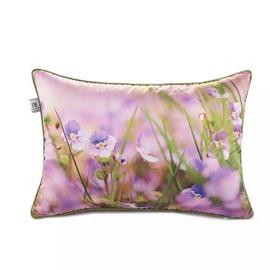 Purple Irises Paint Throw Pillow