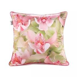 Tender Flowers Paint Throw Pillow