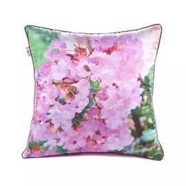 Lovely Primroses Paint Throw Pillow