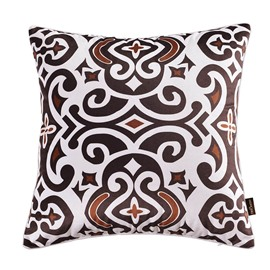 Goose Down Filler Hand Wash Cleaning Polyester Material Throw Pillow Case