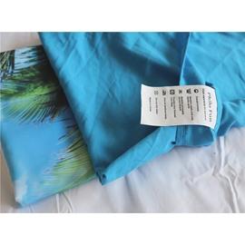 Blue Seaside Landscape Coconut Tree PhiloFun 2-Pieces Pillow Case