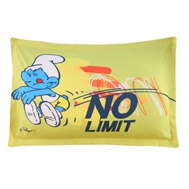 Smurf Long Jump Bright Yellow One Piece Bed Pillowcase