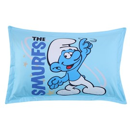 A Smurf Fingering Sky Printed One Piece Bed Pillowcase
