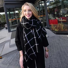 Fashion Warm Cashmere Material Hot Long Scarves