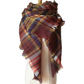Spring Autumn And Winter Fever Stylish Warm Gorgeous Square Scarves