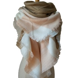 High Cost-Effective Comfortable Cashmere Warm Women Lady Square Scarves