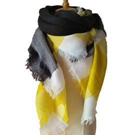 Bright Colors Fashion Design With Comfortable Cashmere Square Scarves