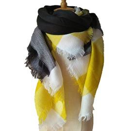 Bright Colors Fashion Design With Comfortable Cashmere Square Scarves