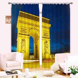 Magnificent Triumphal Arch  3D Blackout Curtain